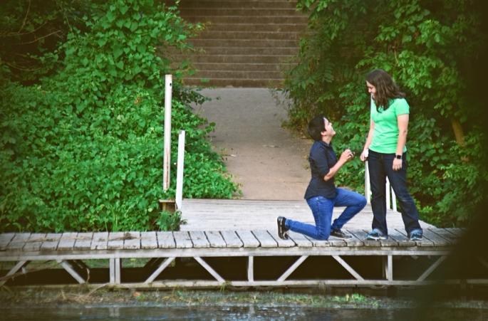 Surprise Engagement by Francesca Blue Photo